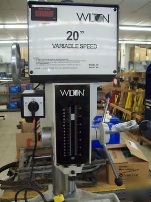 Wilton 2221vs 20 Inch Floor Drill Press
