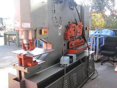 Tri State Motors >> Spartan IW180DX hydraulic ironworker by marvel mfg.