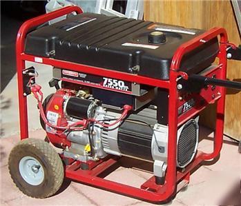 Generac 7550 Exl engine manual