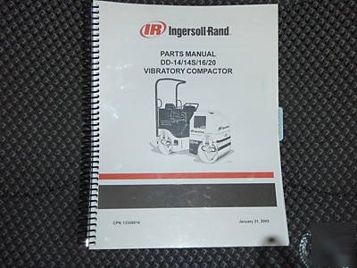 ingersoll rand dd 14 14s 16 20 compactor parts manual rh tristatemachinerydismantlers com ingersoll rand dd24 parts manual online ingersoll rand dd24 parts manual pdf