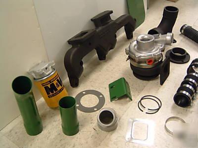M Amp W Turbocharger Turbo Kit John Deere 3010 3020