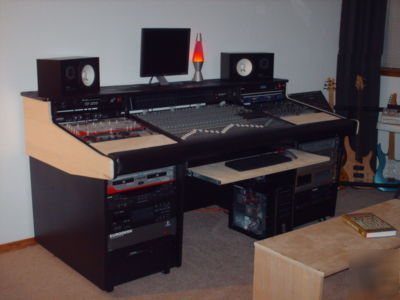Custom Recording Studio Desk Mixing Console