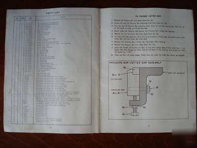 Asplundh Wood Brush Chipper Parts And Operating Manual
