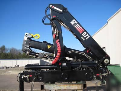 hiab 071 2 knuckle boom crane rh tristatemachinerydismantlers com Hiab Cranes USA Hiab Knuckle Boom Specifications