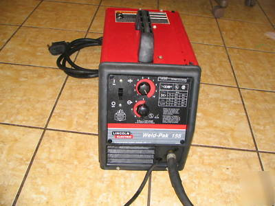 Lincoln Weld Pak 155 Wire Feed Welder