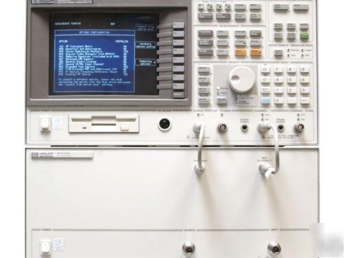 Vector Signal Analyzer : Agilent hp a vector signal analyzer dc ghz