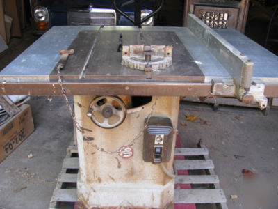 Darra James Model 95 Table Saw No