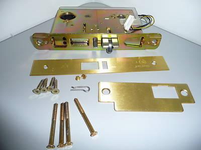 Vingcard Classic Brass Hotel Door Lock W O Deadbolt