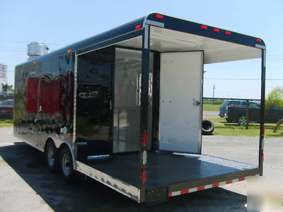 New 8 5 X 20 Concession Trailer Catering Bbq
