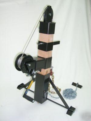 Wall Winch Framing Crane Hoist Jack Lifting Device